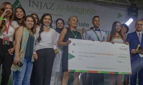 Injaz Al-Maghrib récompense neuf projets