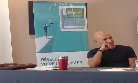 Younes Bellatif, coach et psychologue social et des organisations.