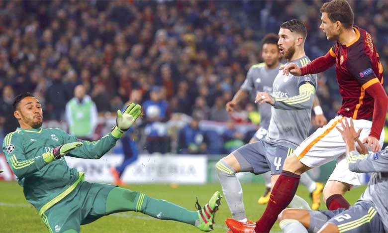 Le Real Madrid remet son titre en jeu face à l'AS Roma