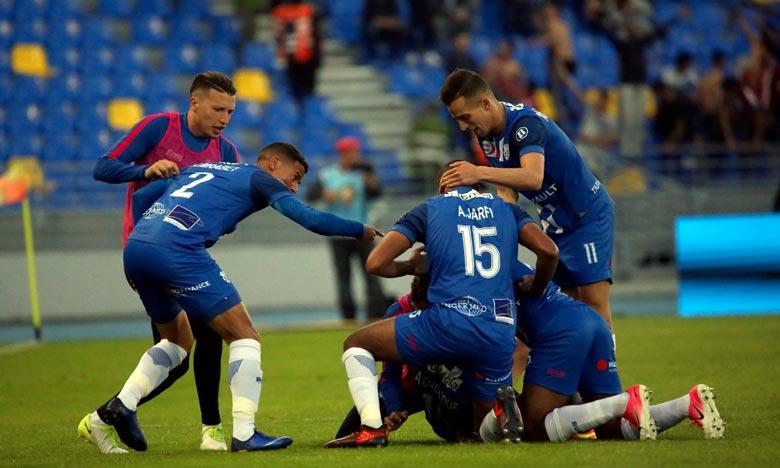 Le derby du Nord entre l'Ittihad Riadhi de Tanger (IRT) et le Moghreb Athletic de Tetouan (MAT), sans vainqueur ni vaincu (1-1). Ph : Seddik