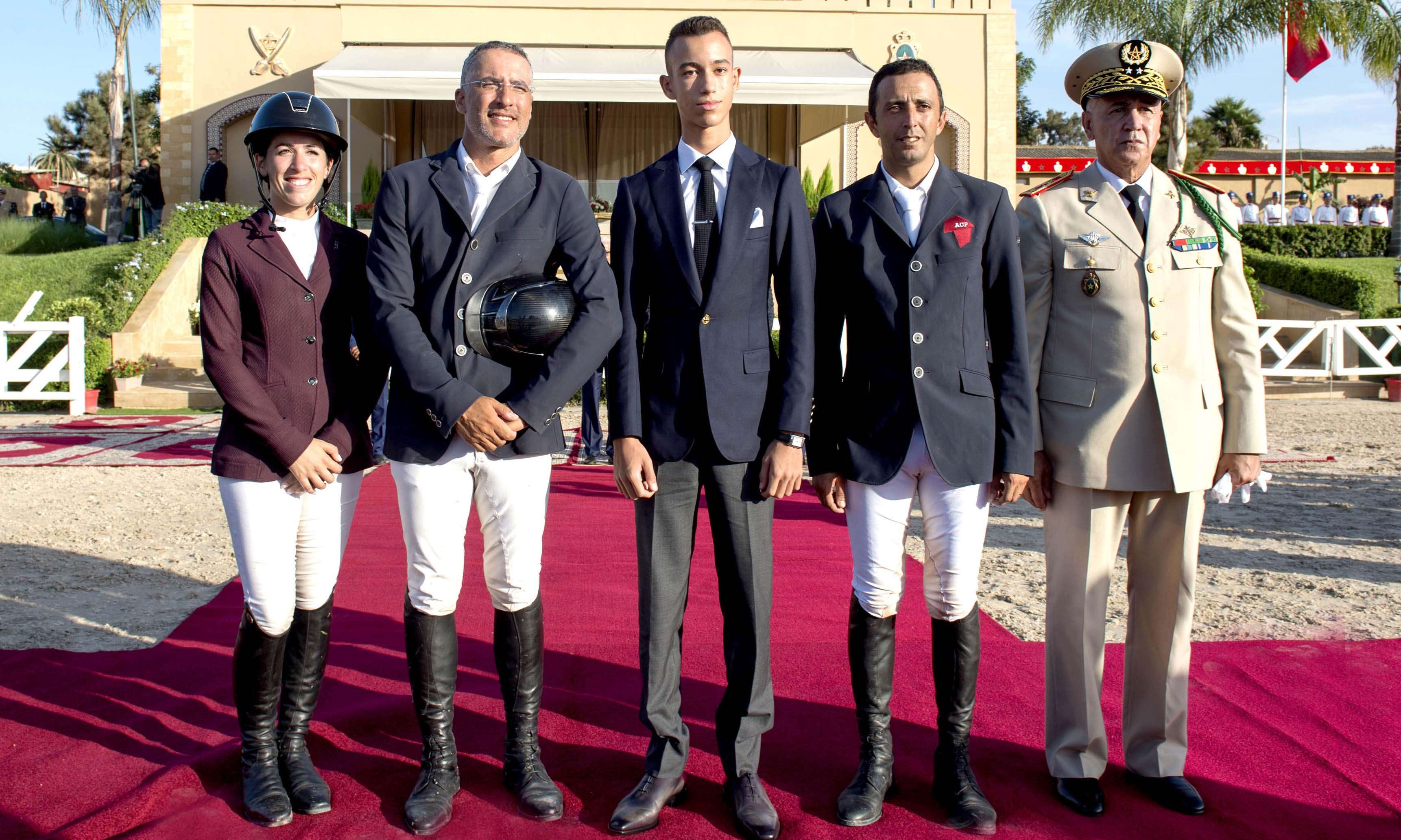 S.A.R. le Prince Héritier Moulay El Hassan préside à Témara la cérémonie de remise du Grand Prix Sa Majesté le Roi Mohammed VI