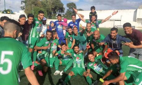 La division amateurs représentée  en quarts, grâce au Stade Marocain
