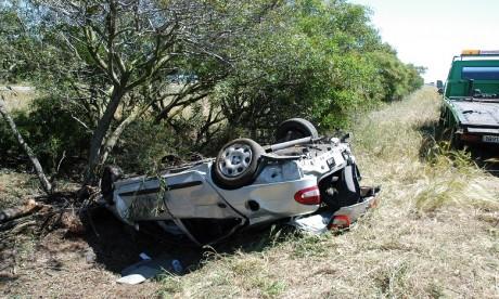 Des morts et des blessés dans le renversement d'un véhicule de transport mixte