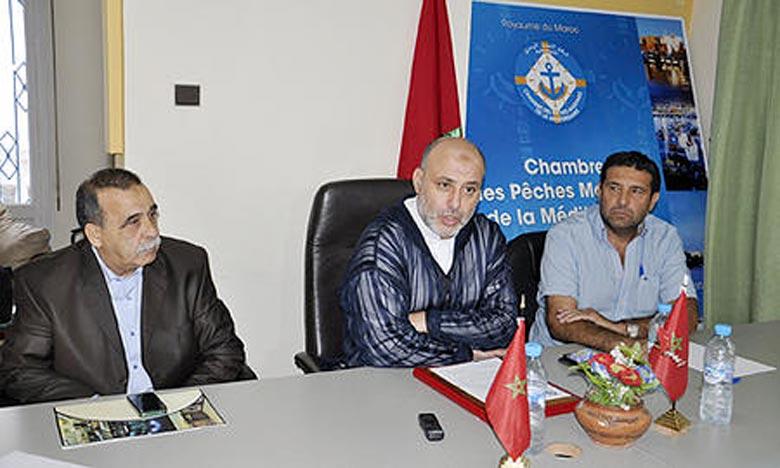 Youssef Benjelloun, unique candidat, a été réélu à l'unanimité des membres présents, soit par 29 voix des 35 membres constituant. Ph. MAP