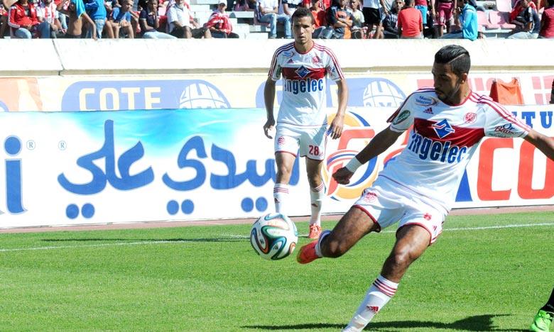 Au tour suivant, le Wydad Athletic Club de Casablanca (WAC) affrontera l'IRT qui s'est adjugé, plutôt dans la journée, le derby du Nord en battant le MAT 1 à 0. Ph : Seddik