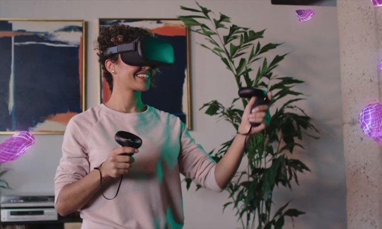 Facebook dévoile son casque de réalité virtuelle