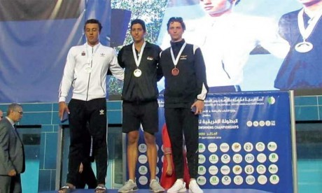 Le nageur marocain Yusuf Tibazi privé  de sa médaille d'or