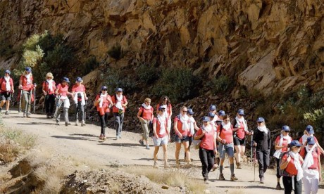Le «Trek des gazelles» souffle sa 3e bougie  du 15 au 19 octobre à Ifrane
