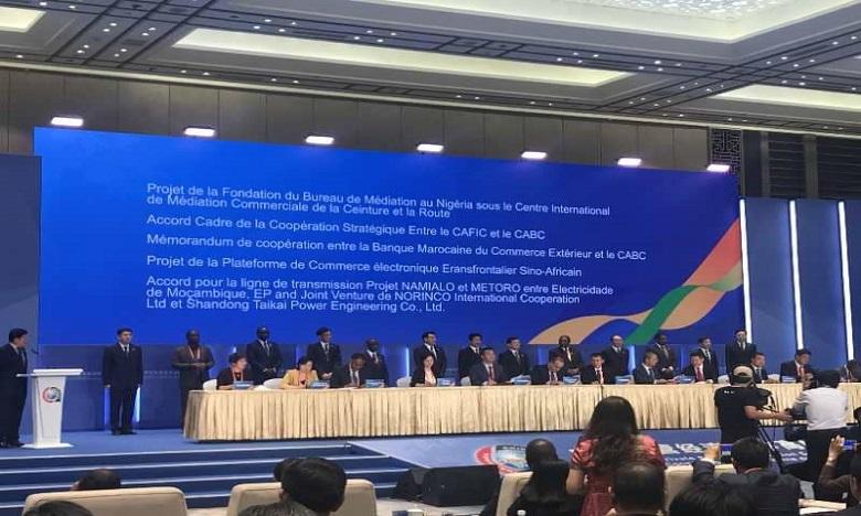 BMCE Bank of Africa et China-Africa Business Council signent une convention de partenariat