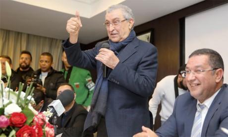 La dette réelle du club s'élève à 80 millions de dirhams, dont  32 millions à régler à court terme
