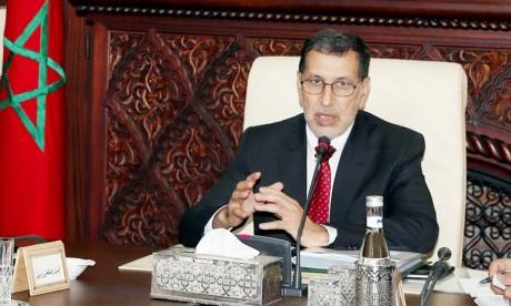 Saâd Eddine El Othmani a noté que l'Exécutif est determiné à renforcer leurs missions et à développer leur cadre juridique, en plus de consolider leur rôle dans le système de contrôle national. Ph : MAP