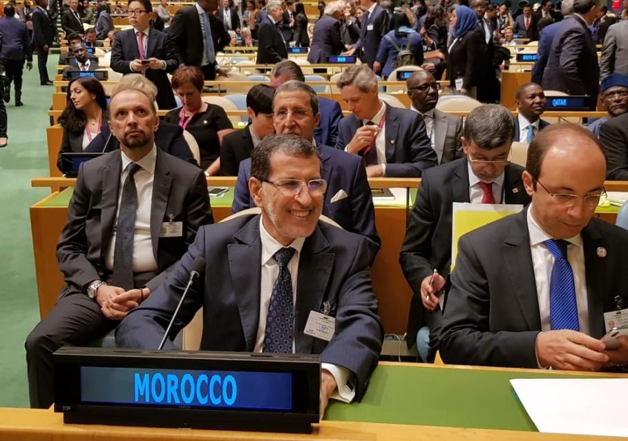 El Othmani à l'ONU pour la 73e AG