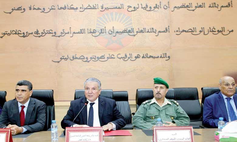 Installation du nouveau secrétaire général de la wilaya de la région