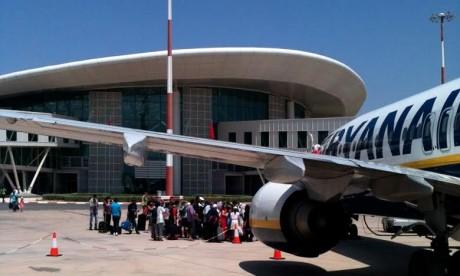 Pour le seul mois d'août, le trafic aérien passager au niveau de l'aéroport d'Oujda-Angad a connu une hausse de 1,77 %, en enregistrant 103.542 passagers. Ph : DR