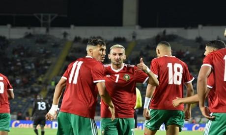 Le Maroc mène face au Malawi à la mi-temps