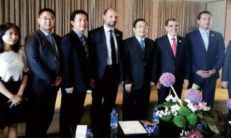 Huawei envisage la mise en place d'un centre logistique régional au port  de Tanger Med