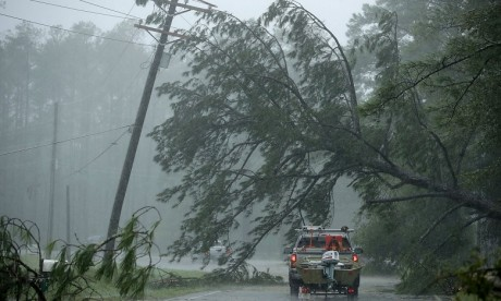 L'ouragan Florence fait ses premières victimes