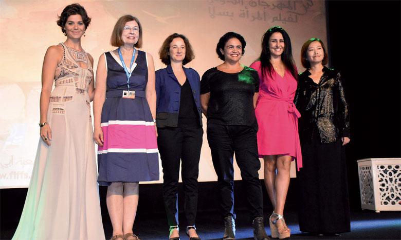 Les membres du jury du Festival de Salé.                                                                                                             Ph. Saouri