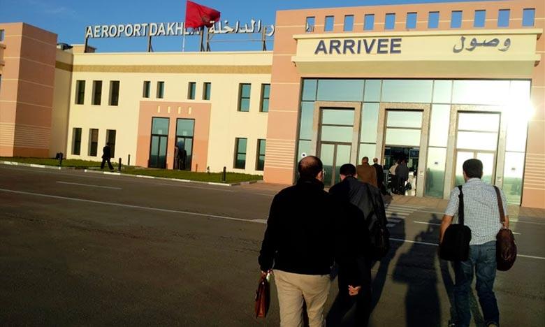 Au cours des sept premiers mois de 2018, le trafic des passagers au niveau de l'aéroport de Dakhla a augmenté de 20,44% pour atteindre 109.932 passagers. Ph : DR