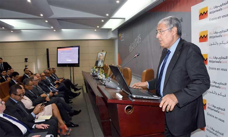 «Alors qu'il est le premier financeur de l'économie, Attijariwafa bank demeure le bon élève sur le plan de la contentialité», se félicite Mohamed El Kettani.  Ph. Saouri