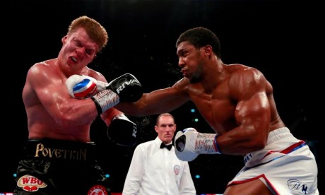 Anthony Joshua conserve son titre