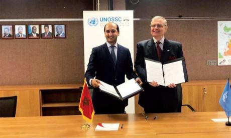 Signature à New York d'un mémorandum d'entente entre l'AMCI et le Bureau des Nations unies pour la coopération Sud-Sud