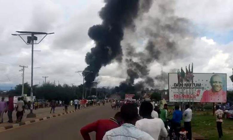 Des dizaines de personnes brûlées au Nigeria