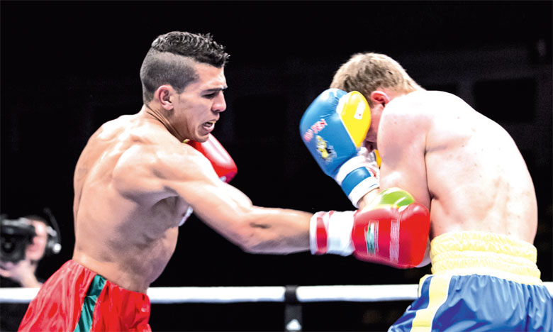 Boxe professionnelle :   Premier combat de la saison ce samedi pour Mohamed Rabii