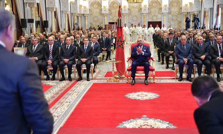 S.M. le Roi préside à Rabat la cérémonie de lancement de la troisième phase de l'INDH conçue selon une nouvelle ingénierie pour des investissements estimés à 18 milliards de dirhams