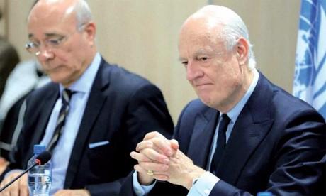 L'envoyé spécial de l'ONU met en garde contre  des consultations sans fin