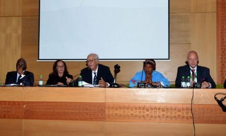 La politique africaine prônée par S.M. le Roi Mohammed VI mise  en exergue lors d'une conférence à Marrakech
