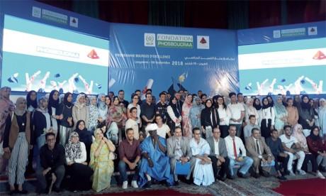 157 bénéficiaires du programme «Bourses d'Excellence» de la Fondation Phosboucraa