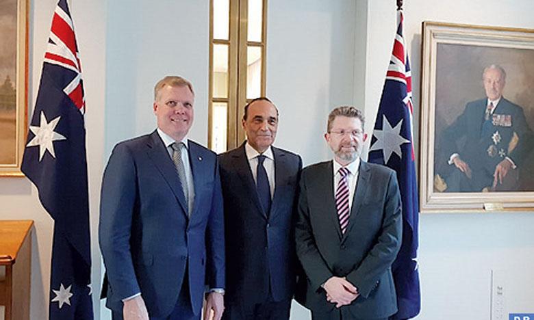 Le président du Sénat australien  qualifie de «riches» les perspectives  de coopération entre Rabat et Canberra