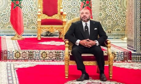 S.M. le Roi adresse un message au Sommet de la paix Nelson Mandela