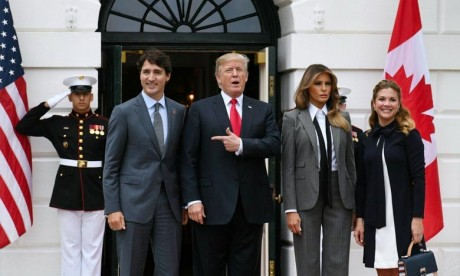 Trudeau discute de l'Aléna avec Trump