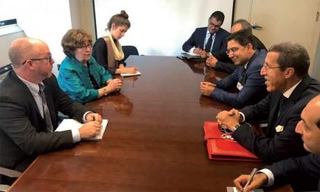 Louise Arbour se félicite du leadership du Maroc, sous l'impulsion de S.M. le Roi