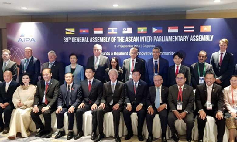 Participation d'une délégation marocaine à la 39e session de l'Assemblée interparlementaire de l'ASEAN