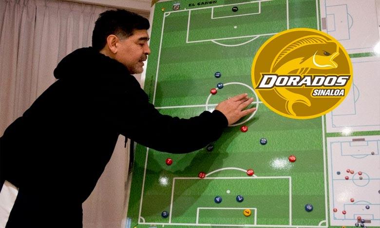 Maradona nouveau coach d'une équipe mexicaine de 2e division