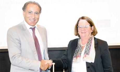 Les deux conventions ont été signées, d'une part, par la directrice générale de la BERD pour la région SEMed, Janet Heckman, et, d'autre part, par Omar Tazi, directeur général délégué de BMCE Bank Of Africa, et Rachid Marrakchi, directeur général de BMCI.           Phs. Saouri