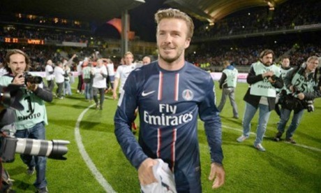 Le nom du club de David Beckham divulgué