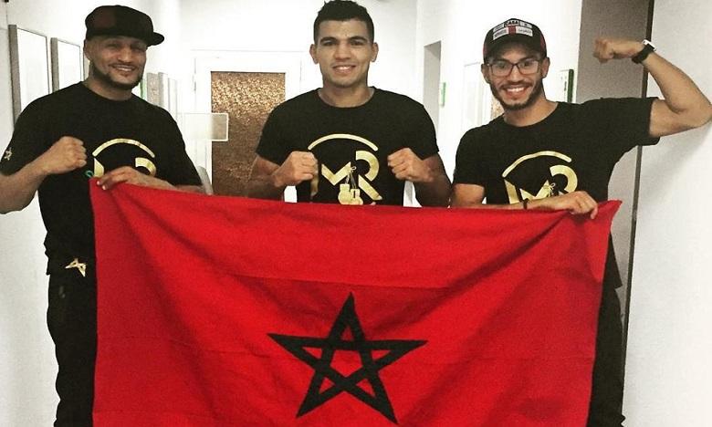 Mohamed Rabii remporte son combat pro en Allemagne