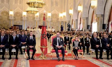 S.M. le Roi préside la cérémonie de présentation du bilan d'étape et du programme exécutif dans le domaine du soutien à la scolarité et de la mise en oeuvre de la réforme de l'éducation et de la formation