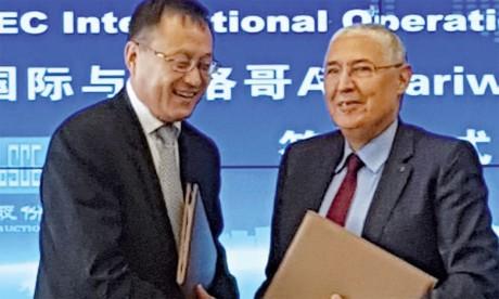 Attijariwafa bank et le chinois CSCEC s'allient  pour l'Afrique