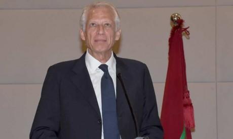 Dominique De Villepin à l'Université d'été de la CGEM