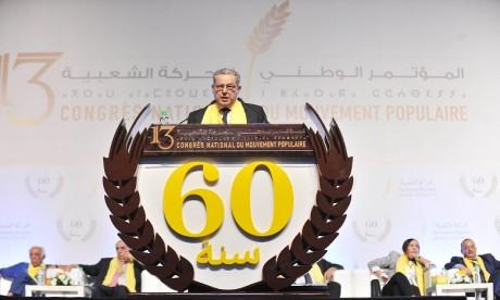 Réélection de Mohand Laenser à la tête du MP