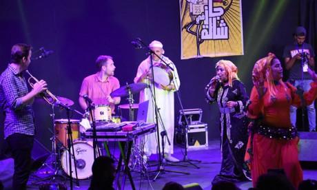 La prestation de Hadda Ouakki et du groupe Igor Matrovic «State of Ku» a séduit le public. Ph. Saouri