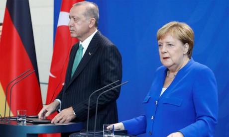 Un sommet Merkel-Macron-Poutine-Erdogan en préparation