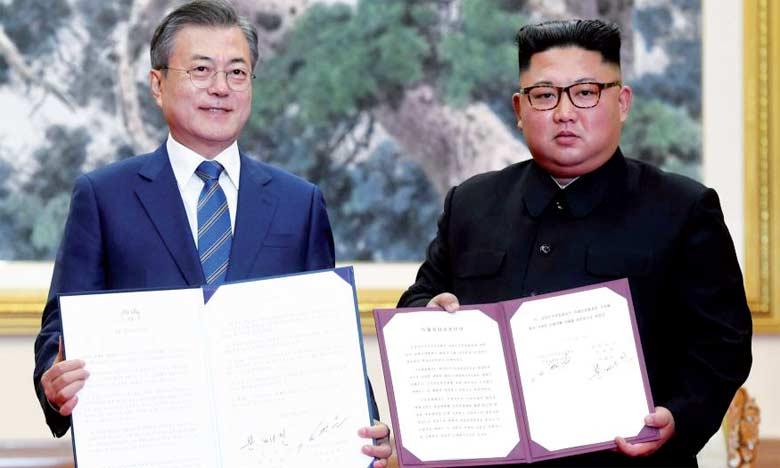 Kim Jong-un promet à son homologue  sud-coréen de fermer deux sites balistiques