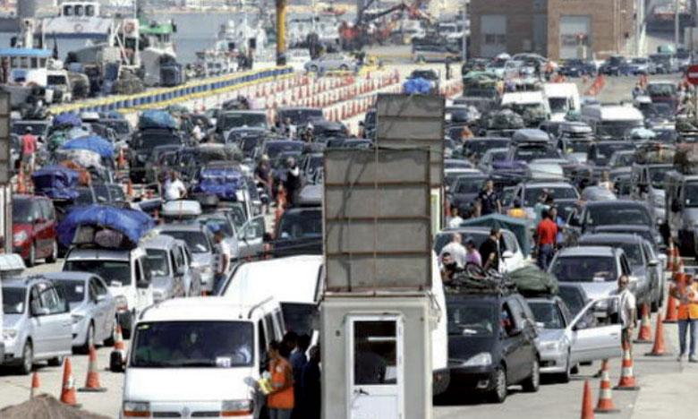 La Port Authority a mis en place un plan d'urgence afin de traiter toute la file d'attente constituée à l'extérieur du port,  et de résorber ce trafic inhabituel.