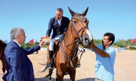 La paire Ghali Boukaa et «Cool Running» s'adjuge le Grand Prix S.M. le Roi Mohammed VI